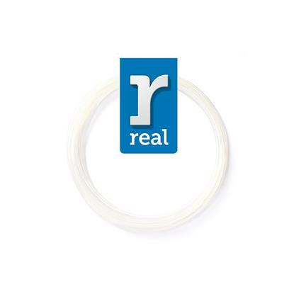 REAL PLA 3D pen filament White ( 10 m / 1.75 mm ) (3DPFPLAWHITE10MM175) (REF3DPFPLAWHITE10MM175)