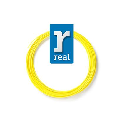 REAL PLA 3D pen filament Yellow ( 10 m / 1.75 mm ) (3DPFPLAYELLOW10MM175) (REF3DPFPLAYELLOW10MM175)