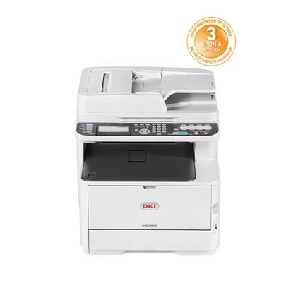 OKI MC363dnw Color Laser Multifunction Printer (OKIMC363DNW) (46403512)