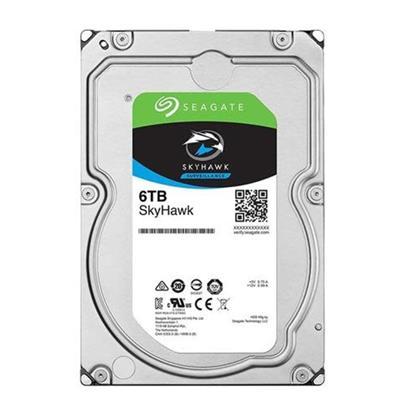 Εσωτερικός Σκληρός Δίσκος SEAGATE SkyHawk 3.5'' 6TB Sata/600 (ST6000VX001) (SEAST6000VX001)