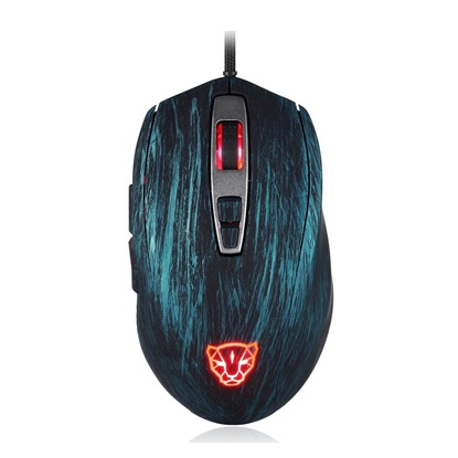 Motospeed V60 Wired gaming mouse blue color (MT-00098) (MT00098)