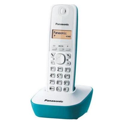 Ασύρματο Τηλέφωνο Panasonic KX-TG1611GRC White-Turquoise (KX-TG1611GRC) (PANKXTG1611GRC)