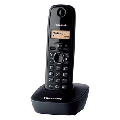 Ασύρματο Τηλέφωνο Panasonic KX-TG1611GRH Black (KX-TG1611GRH) (PANKXTG1611GRH)