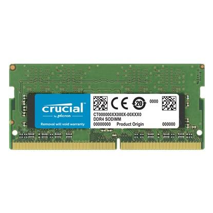 Crucial Μνήμη RAM 16GB DDR4-2666 SODIMM (CT16G4SFD8266) (CRUCT16G4SFD8266)