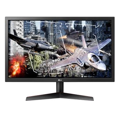 """LG Ultra Gear 24GL600F-B Led Gaming Monitor 24"""" (24GL600F-B) (LG24GL600FB)"""