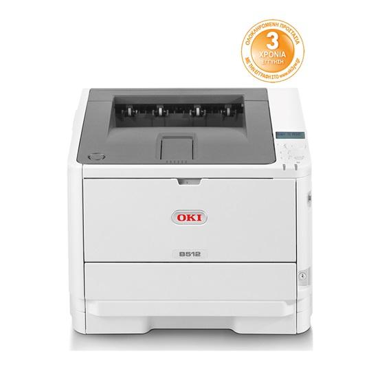 OKI B512dn Monochrome Laser Printer (OKIB512DN) (45762022)
