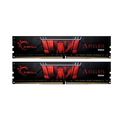 G.Skill Μνήμη RAM Aegis DDR4 3000MHz 16GB (F4-3000C16D-16GISB) (GSKF43000C16D16GISB)
