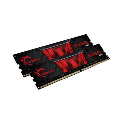 G.Skill Μνήμη RAM Aegis DDR4 3000MHz 32GB (F4-3000C16D-32GISB) (GSKF43000C16D32GISB)