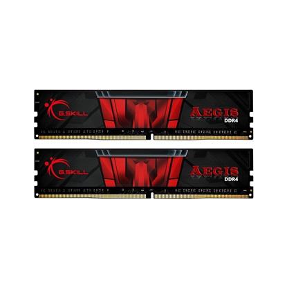 G.Skill Μνήμη RAM Aegis DDR4 3200MHz 16GB (F4-3200C16D-16GIS) (GSKF43200C16D16GIS)