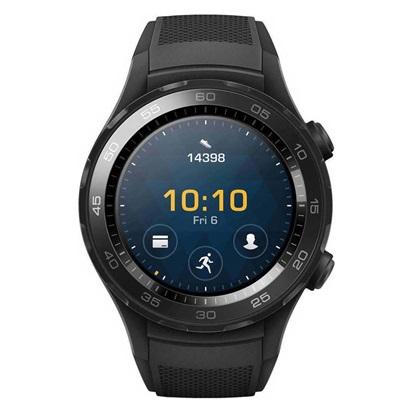 Huawei Watch 2 WiFi Sport Band - Black EU