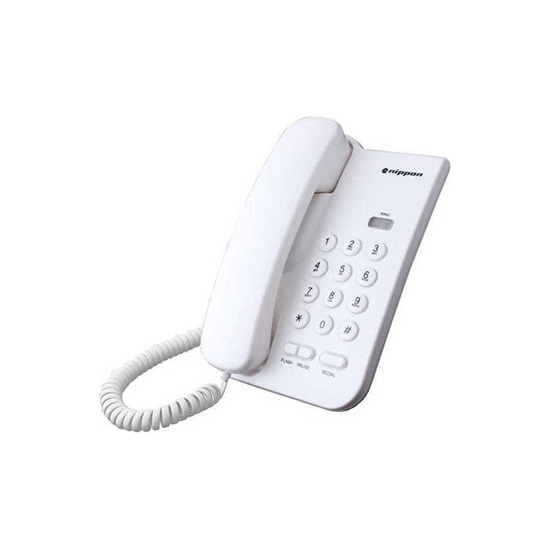 Ενσύρματο Τηλέφωνο Panasonic NP-2035 White (NP-2035W) (PANNP2035W)
