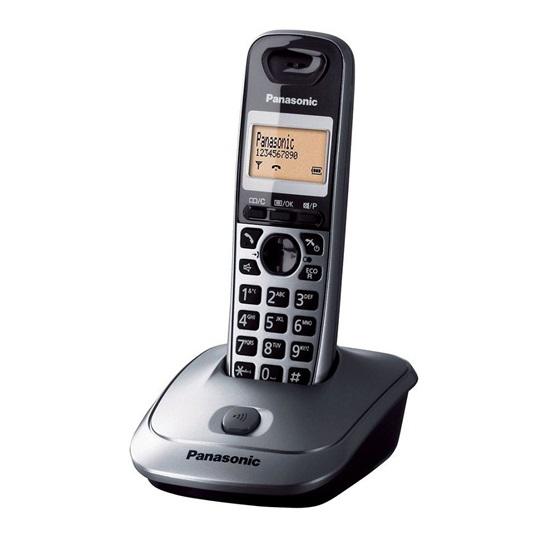 Ασύρματο Τηλέφωνο Panasonic KX-TG2511G Grey (KX-TG2511G) (PANKXTG2511G)
