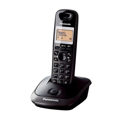 Ασύρματο Τηλέφωνο Panasonic KX-TG2511B Black (KX-TG2511B) (PANKXTG2511B)