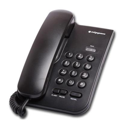 Ενσύρματο Τηλέφωνο Panasonic NP-2035 Black (NP-2035B) (PANNP2035B)