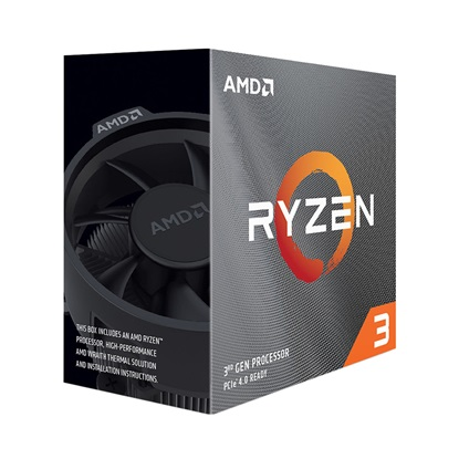 Επεξεργαστής AMD RYZEN 3 3100 Box AM4 (100-100000284BOX) (AMDRYZ3-3100)