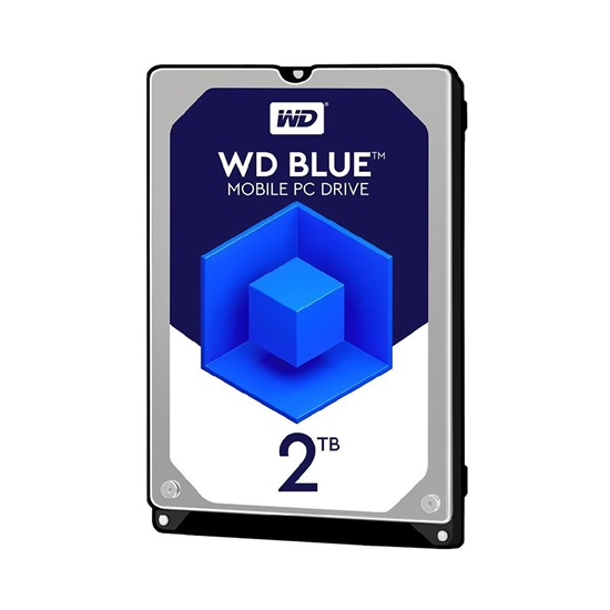 Western Digital Εσωτερικός Σκληρός Δίσκος 2TB (Blue 2.5'') (WD20SPZX)