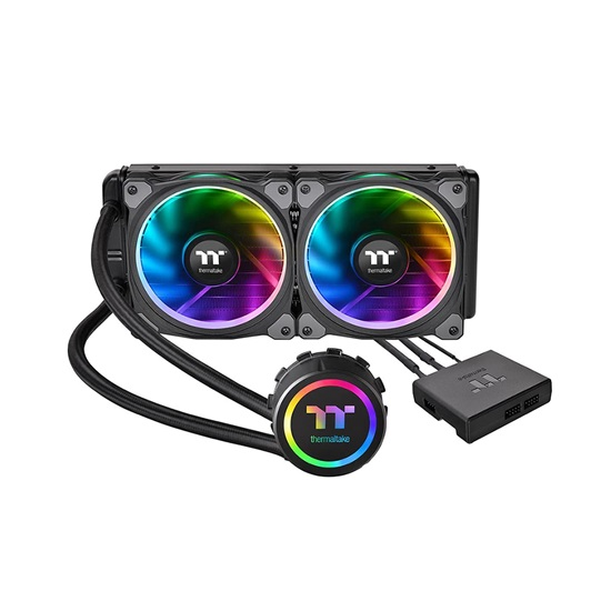 Thermaltake Cooler Floe Riing RGB 240 TT Premium Edition - Water Cooling (CL-W157-PL12SW-A) (THECLW157PL12SWA)