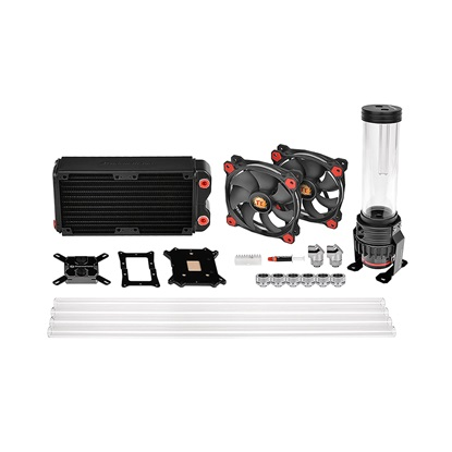 Thermaltake Cooler Pacific RL240 D5 Hard Tube LCS Kit (CL-W198-CU00RE-A) (THECLW198CU00REA)