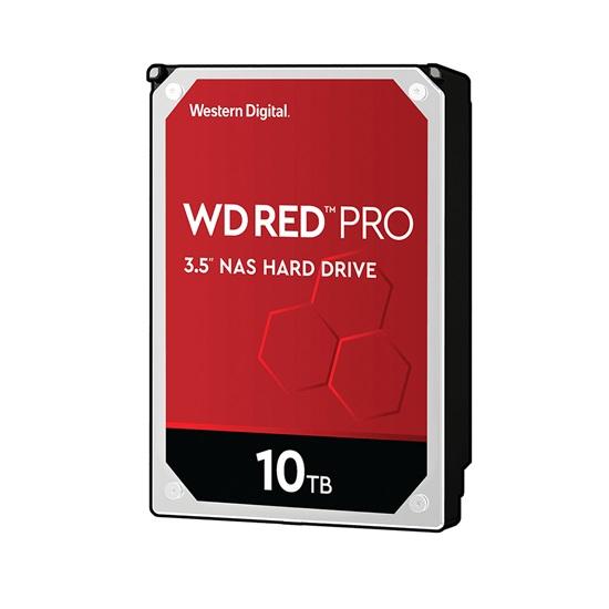 Western Digital Εσωτερικός Σκληρός Δίσκος 10TB (Red, Pro 3.5'') (WD102KFBX)
