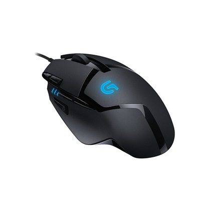 Logitech G402 Optical Mouse (Black, Wired)