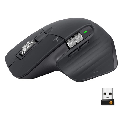 Logitech Mouse MX Master 3 Graphite (910-005694) (LOGMXMASTER3)