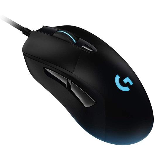 Logitech USB G403 Hero Black Gaming Mouse (910-005633) (LOGG403)