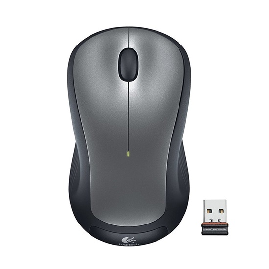 Logitech M310 Optical Mouse Silver Wireless (910-003986) (LOGM310SIL)