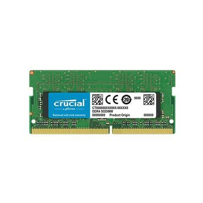 Crucial RAM 8GB DDR4 3200 MT/s unbuf SODIMM 260pin SR x8  (CT8G4SFS832A) (CRUCT8G4SFS832A )