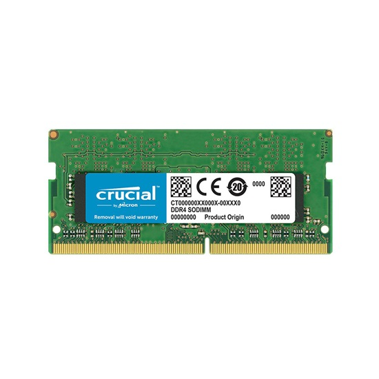 Crucial Μνήμη RAM DDR4 2400MHz 16GB SO-DIMM (CT16G4SFD824A) (CRUCT16G4SFD824A)