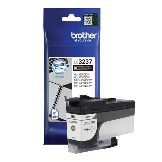 Brother Μελάνι Inkjet LC-3237BK Black (LC-3237BK) (BRO-LC-3237BK)