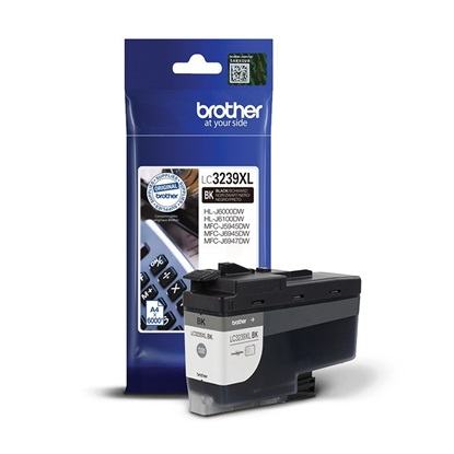 Brother Μελάνι Inkjet LC-3239XLBK Black (LC-3239XLBK) (BRO-LC-3239XLBK)