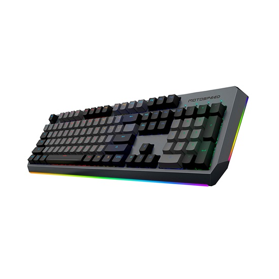 Motospeed CK80 Wired mechninal Keyboard RGB Gold Switch GR Layout