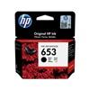 HP Μελάνι Inkjet No.653 Black (3YM75AE) (HP3YM75AE)