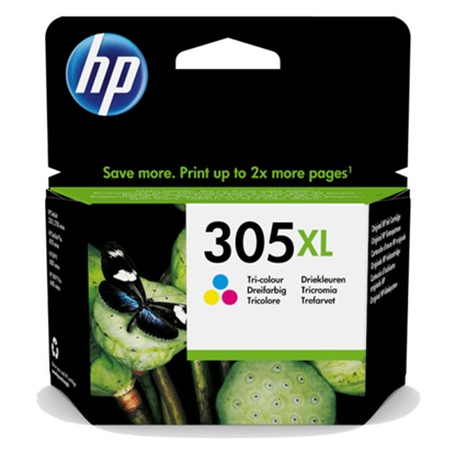 HP Μελάνι Inkjet No.305XL Tri-Colour (3YM63AE) (HP3YM63AE)