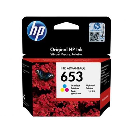 HP Μελάνι Inkjet No.653 Tri-Colour (3YM74AE) (HP3YM74AE)