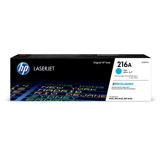 HP 216A Cyan LaserJet Toner Cartridge (850k) (W2411A) (HPW2411A)