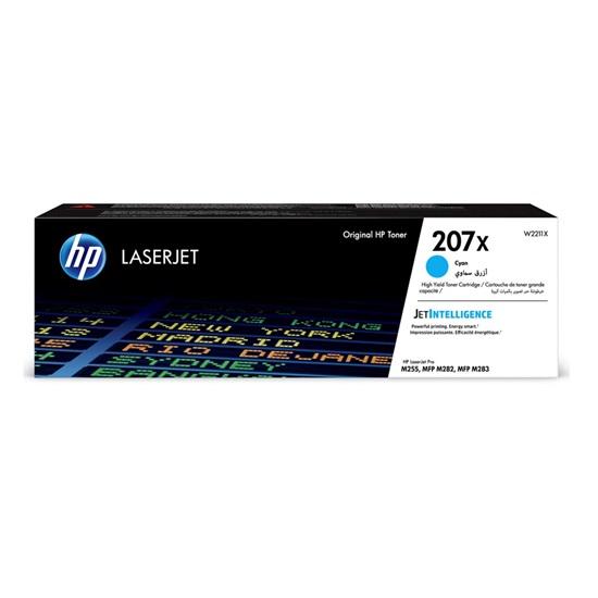 HP 207X Cyan LaserJet Toner Cartridge (2.45k) (W2211X) (HPW2211X)