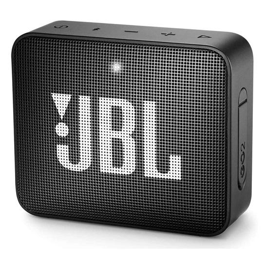 JBL GO 2 Portable Bluetooth Speaker Black (JBLGO2BLK)