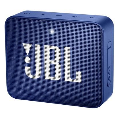 JBL GO 2 Portable Bluetooth Speaker Blue (JBLGO2BLU)