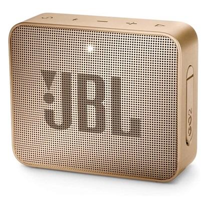 JBL GO 2 Portable Bluetooth Speaker Champagne (JBLGO2CHGN)