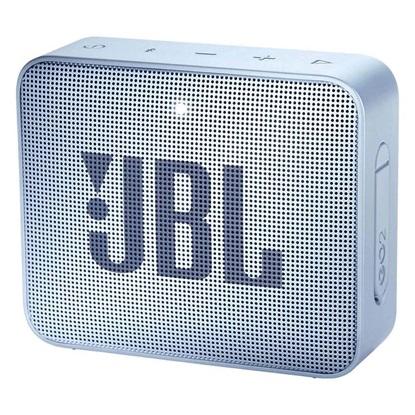 JBL GO 2 Portable Bluetooth Speaker Cyan (JBLGO2CYAN)