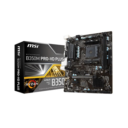 MSI B350M PRO-VD PLUS (AM4) (7B38-004R) (MSI7B38-004R)