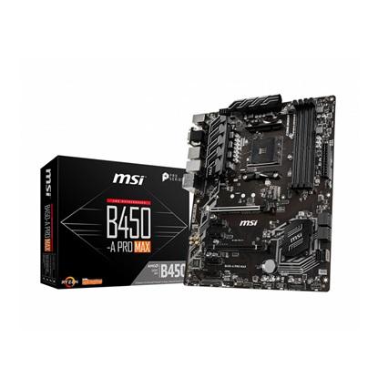 MSI B450-A PRO MAX Motherboard AM4 (7B86-022R) (MSI7B86-022R)