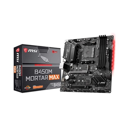 MSI B450M MORTAR MAX Motherboard AM4 (7B89-016R) (MSI7B89-016R)