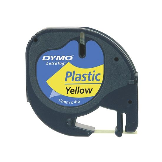 Χάρτινη Ταινία Ετικετογράφου DYMO 91222 12 mm x 4 m (Κίτρινη) (DYMO91222)