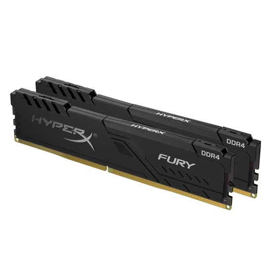 Kingston RAM HyperX Fury DDR4-3200 Black 8GB Kit (2 x 4GB) (HX432C16FB3K2/8) (KINHX432C16FB3K2/8)