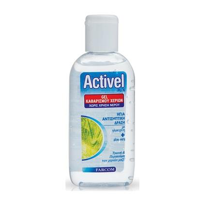 Αντισηπτικό Gel Καθαρισμού Χεριών Activel 80ml