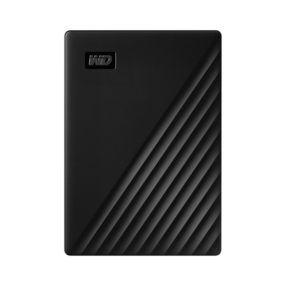 Western Digital My Passport 4TB External USB 3.2 Gen 1 Portable Hard Drive (Black) (WDBPKJ0040BBK)