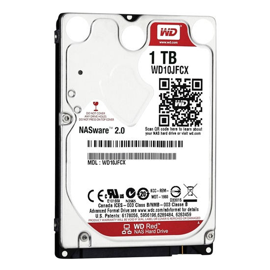 "Western Digital Εσωτερικός Σκληρός Δίσκος 2 TB (CMR) (Red Plus 2.5"") (WD10JFCX)"