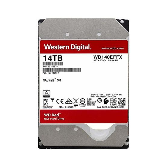 "Western Digital Εσωτερικός Σκληρός Δίσκος 14 TB (CMR) (Red Plus 3.5"") (WD140EFFX)"